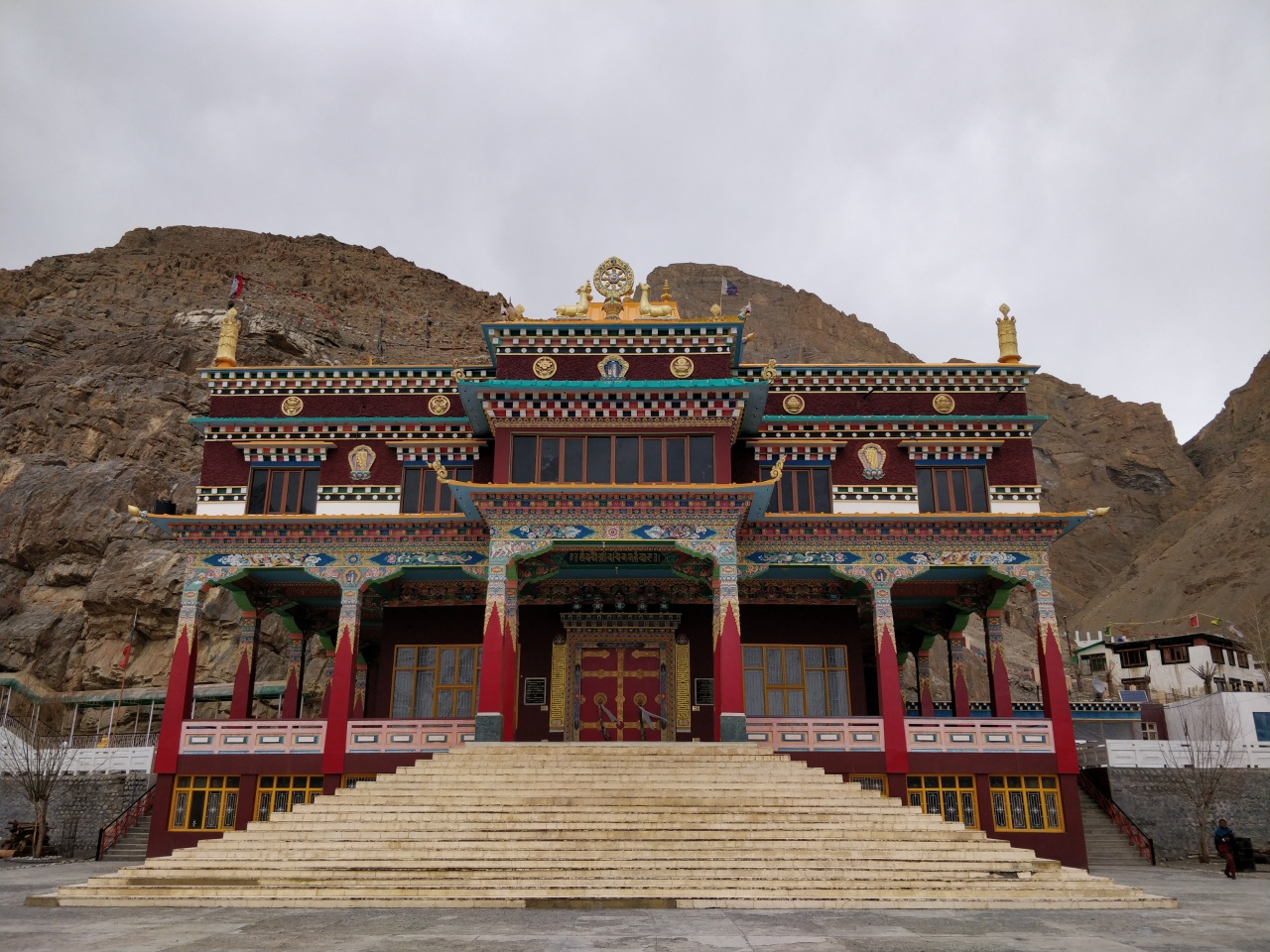 Journey to the Magical Land- Spiti, HP Day 8 : Kaza-Key Monastery-Pin Valley-Tabo