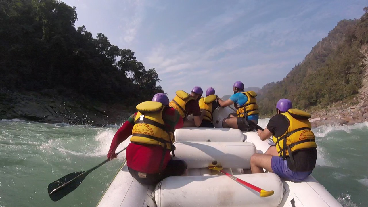 Land of Gods |Uttarakhand'18| Day 4| Rishikesh – River Rafting